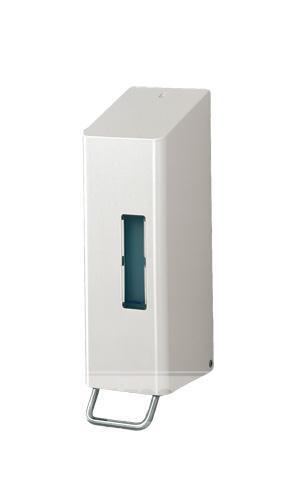 Kovový dávkovač tekutého mýdla, nástěnný - SANTRAL NSU 11 P 1200ml
