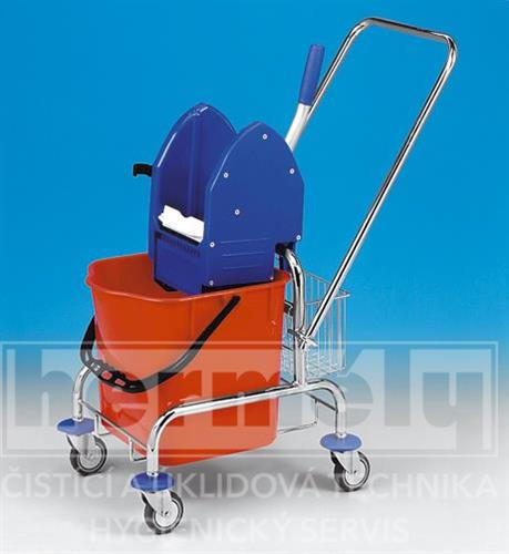Úklidový vozík CLAROL 1 x 17 l