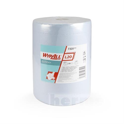Papírové utěrky  WYPALL L20 extra+ 380 x 330 mm