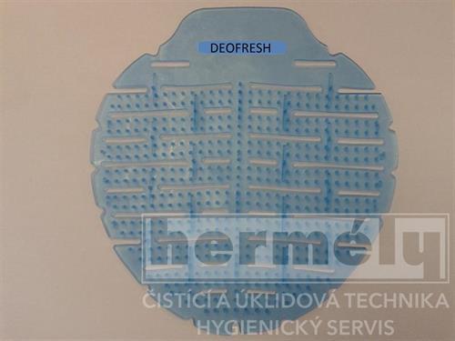 Vonné sítko do pisoárů Deofresh modré - bavlna