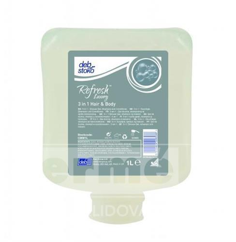DEB CREME WASH - šampon pro tělo a vlasy 6x1l