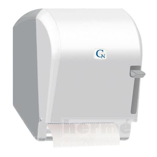 zásobník papírových ručníků v roli caren s podavačem - bílý