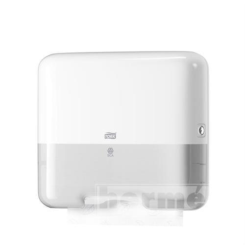 C-BOX MINI TORK H3 plastový zásobník na skládané ručníky - bílý