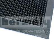 M51 - Rohož gumová FINGERTIP 60 x80x1,6 cm