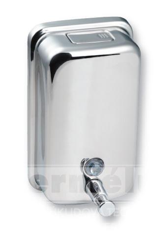 Kovový dávkovač tekutého mýdla, nástěnný - HARMONY 850ml