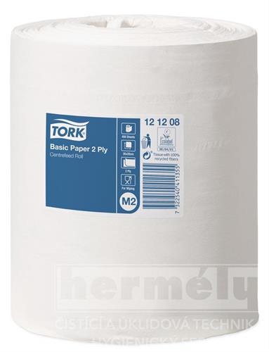 TORK UNIVERSAL 320 papírové ručníky v roli - bílé