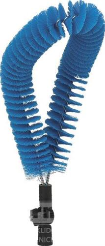 Kartáč na čiš. trubek zvnějšku, střední, modrý