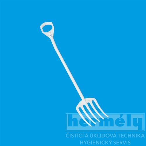 Hygienické vidle, bílé