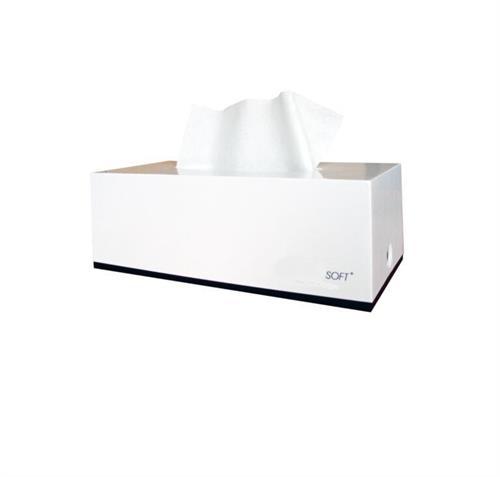 Dávkovač kosmetických kapesníků SOFT bílý větší