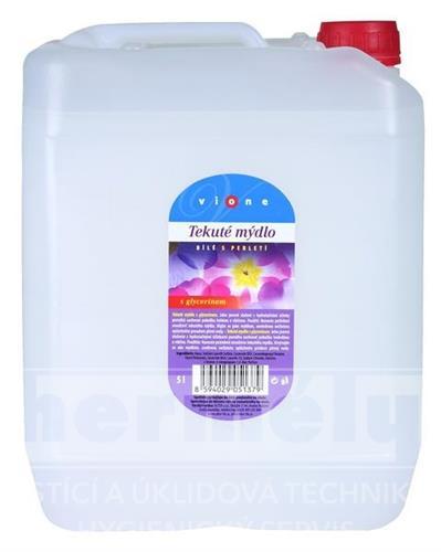 Tekuté mýdlo na dolévání - bílé ROSE & MAGNOLIA 5l