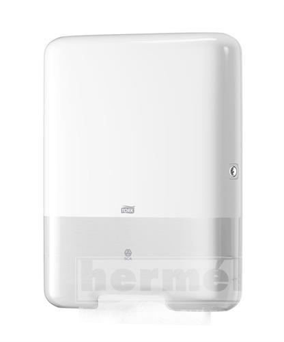 C-BOX TORK H3 plastový zásobník na skládané ručníky - bílý