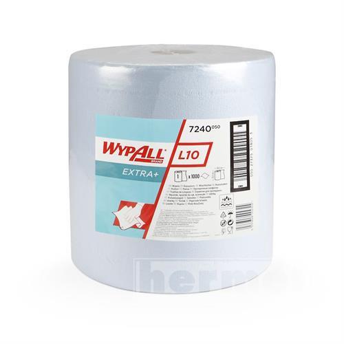 Papírové utěrky WYPALL L10 EXTRA+ 385 x 325 mm