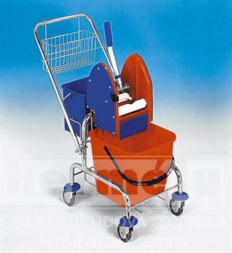 Úklidový vozík  CLAROL 1 x 17 l PLUS