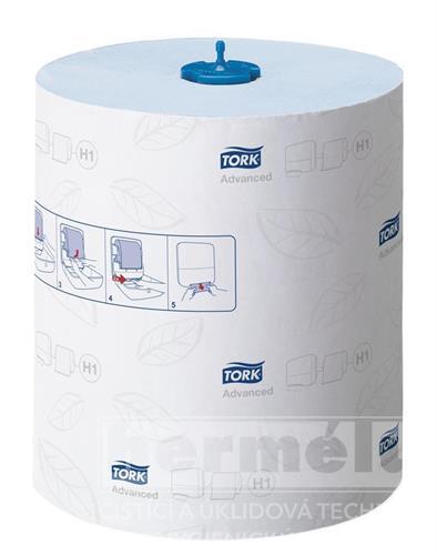 TORK ADVANCED papírové ručníky MATIC role - modré