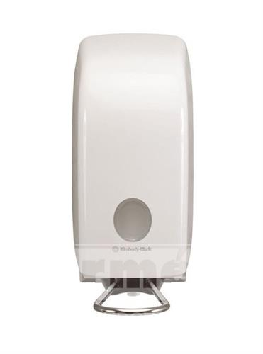 Dávkovač tekutého mýdla, pěny, dezinfekce - AQUAR s loketní pákou