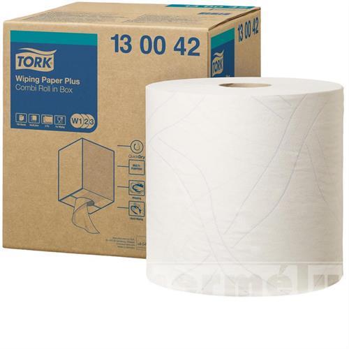 Průmyslová papírová utěrka Tork Advanced 420 malá bílá role