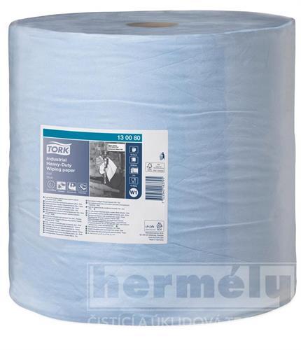 Průmyslová papírová utěrka Tork Advanced 440 velká modrá role