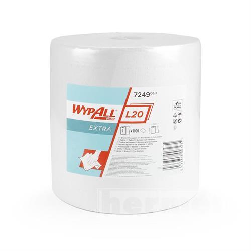 Papírové utěrky WYPALL L20 EXTRA 385 x 325 mm