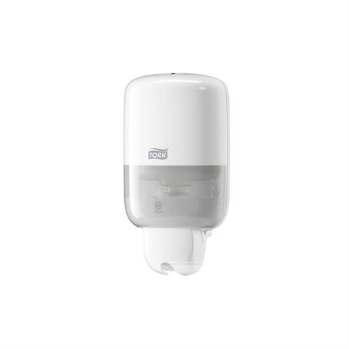 Plastový dávkovač na dezinfekci toaletních sedátek S-BOX MINI TORK S2 bílý 475ml