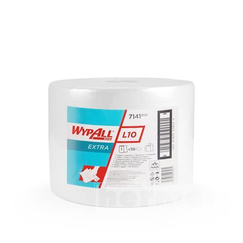 Papírové utěrky WYPALL L10 EXTRA 380 x 235 mm, bílá