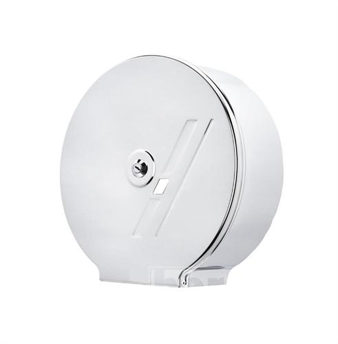 Zásobník na toaletní papír JUMBO®  G 20 - nerez lesk/mat s prolisem