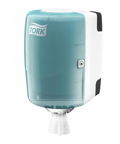 M-BOX TORK M2 zásobník na ručníky v roli - tyrkys