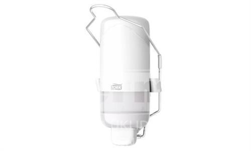 Dávkovač na tekuté mýdlo a dezinfekci S-BOX TORK S PÁKOU S1 bílý 1L