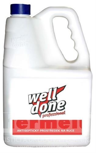 Well Done Fine dezinfekční prostředek na ruce 5l