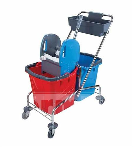 Úklidový vozík VERSO 2 x 17l