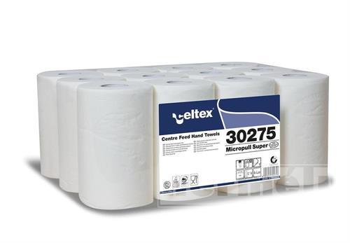 Papírové ručníky v miniroli CELTEX SUPER bílá 2 vrstvy