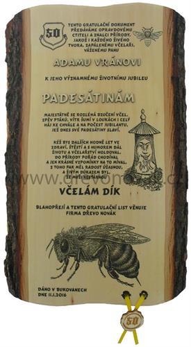 Gratulace včelař č.697