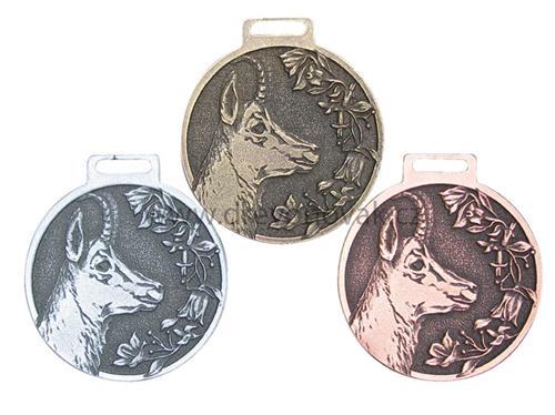 Medaile podle hodnocení CIC kamzík č.848