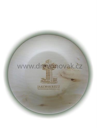 Dřevěný talířek č. 20010