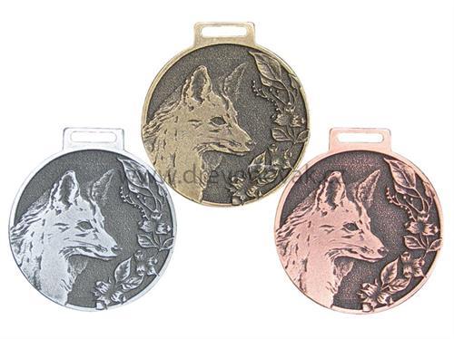 Medaile podle hodnocení CIC liška č.840