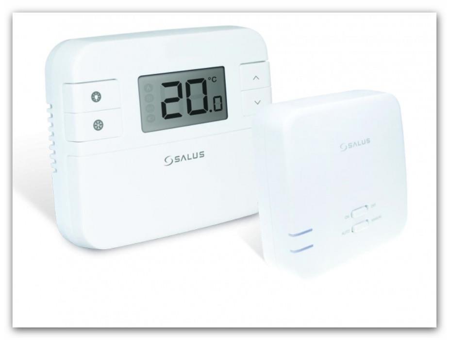 Bezdrátový digitální manuální termostat Salus RT310RF